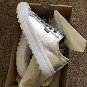 Ugg Metallic/Silver Sneakers